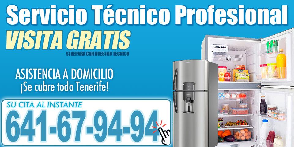 Técnico de Neveras Tenerife Profesional