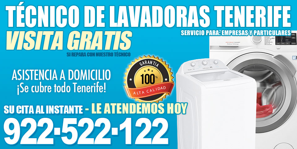 tecnico de lavadoras tenerife