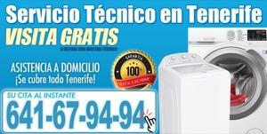 tecnico de lavadoras en Tenerife