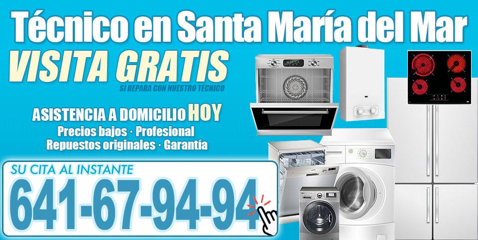 Servicio Técnico en Santa María del Mar