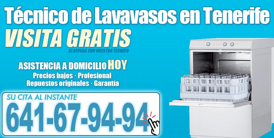 Técnico de Lavavasos en Tenerife
